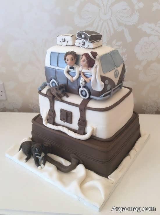 مدل کیک عروسی فانتزی و جالب