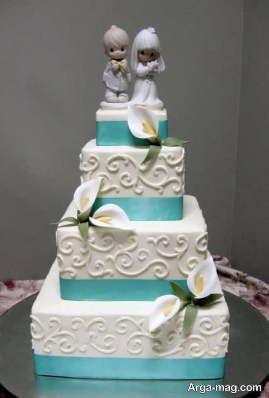 تزیین جالب کیک عروسی