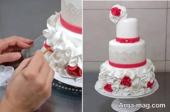 تزیین جالب کیک