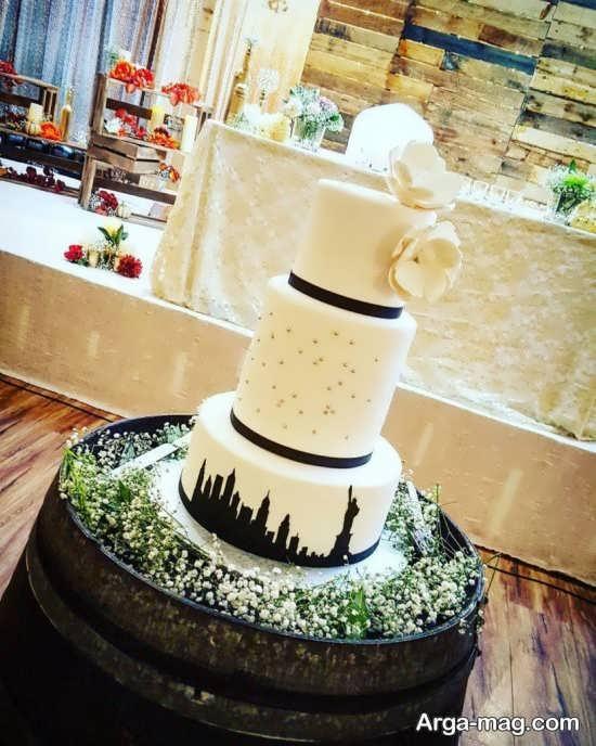 تزیین کیک با خمیر فوندانت
