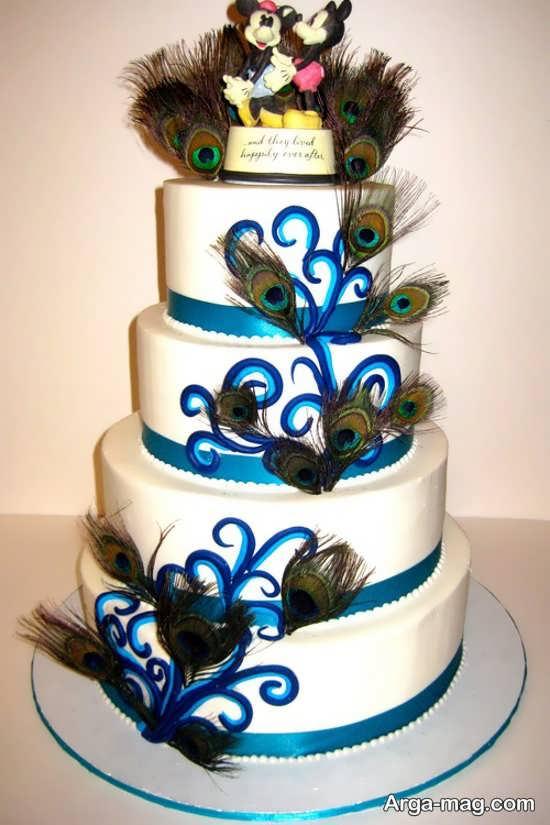 مدل کیک عروسی خلاقانه