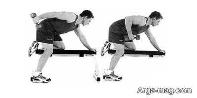 حرکات ورزشی با دمبل در خانه