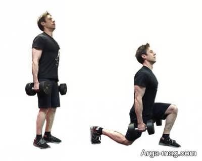 حرکات تاثیر گذار ورزشی با دمبل