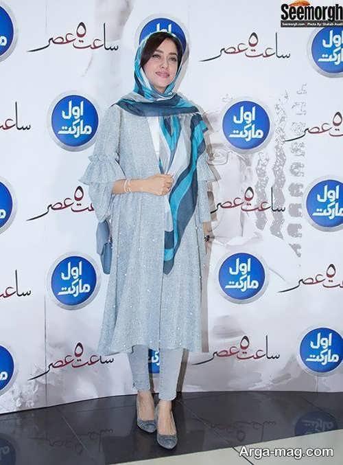 مدل مانتوی زیبا بهاره کیان افشار