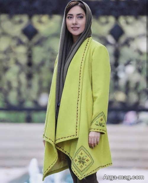 مدل مانتو زیبا بهاره کیان افشار