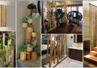 تزئین منزل با چوب بامبو