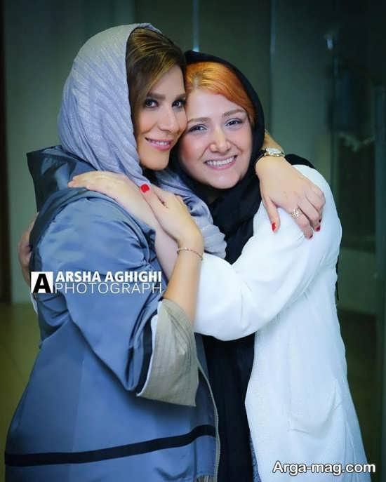 عکس احساسی دو خانم بازیگر