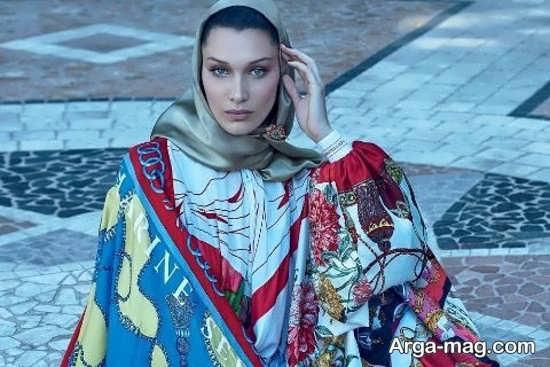 عکس باحجاب سوپر مدل آمریکایی