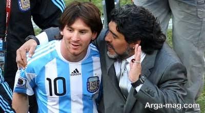 مارادونا و جنجال های فوتبالی اش