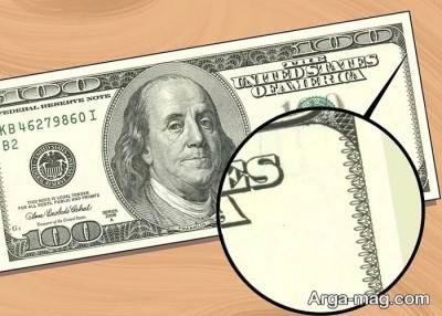 دلار تقلبی چه نشانه هایی دارد
