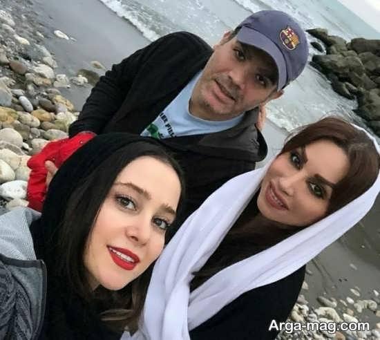 عکس های دیده نشده از الناز حبیبی و نسرین نصرتی