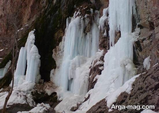 آبشار حومه اصفهان