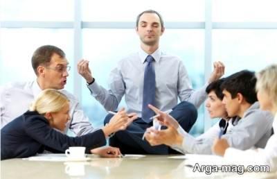 چگونه به استرس در محیط کار غلبه کنیم؟