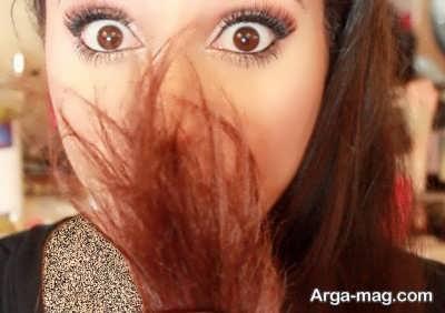 درمان موخوره با 5 ماسک موی طبیعی