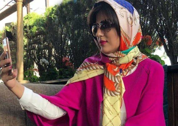 هلیا امامی در تیپ قجری