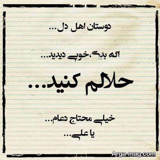 عکس جالب حلالم کنید