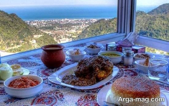 رستوران زیبای جواهرده