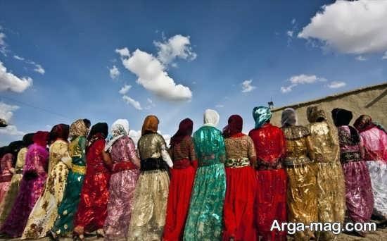 جاذبه های زیبا در کردستان