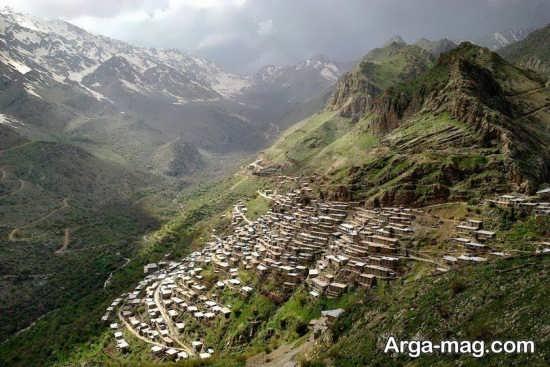 چشم انداز زیبای کردستان