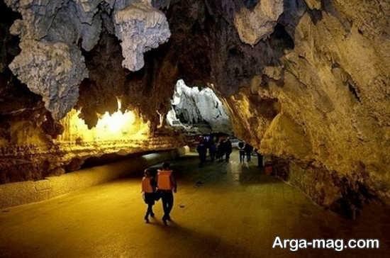 غار طبیعی محلات