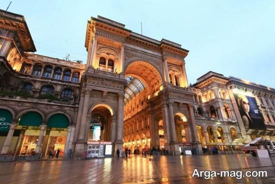 بناهای زیبا در میلان