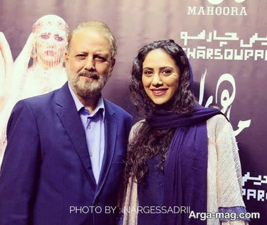عکس متفاوت از مونا فرجاد در کنار پدرش