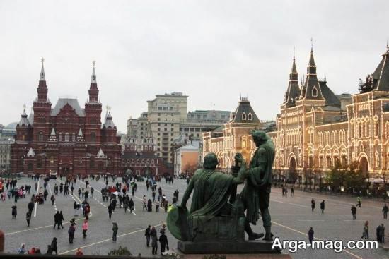 جاذبه های تاریخ مسکو