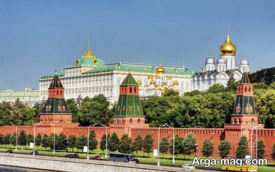 جاذبه های شهر مسکو