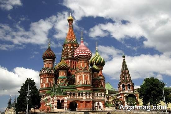 مناطق گردشگری مسکو