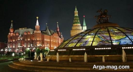 دیدنی های معروف مسکو