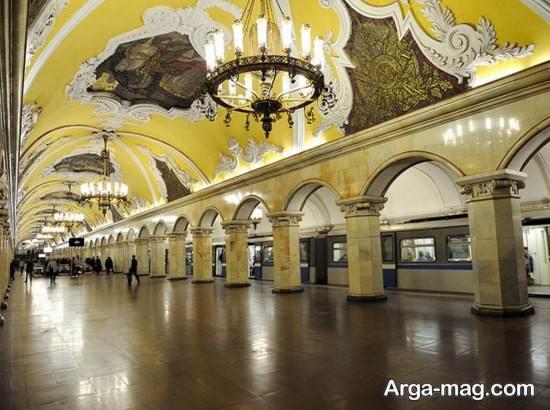 متروی شهر مسکو
