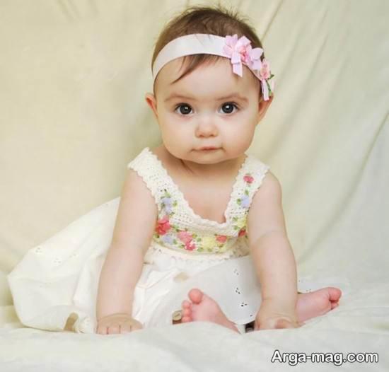 عکس نوزادان دختر خوشگل برای پروفایل