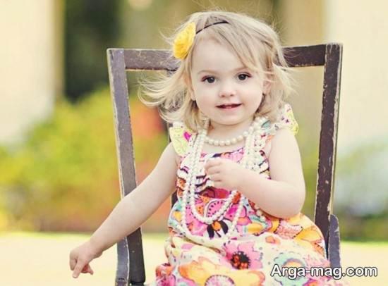عکس خوشگل نوزاد دختر