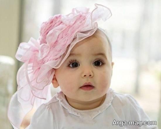 عکس نوزادان دختر دیدنی و تماشایی