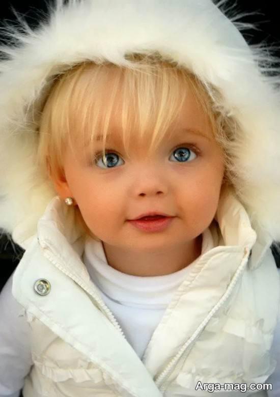 عکس نوزاد دختر مخصوص پروفایل