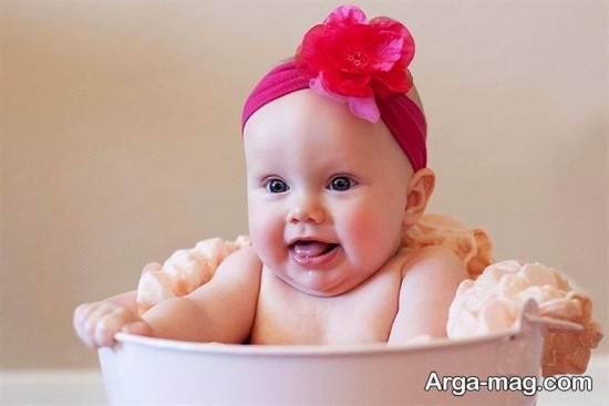 عکس نوزاد دختر جدید