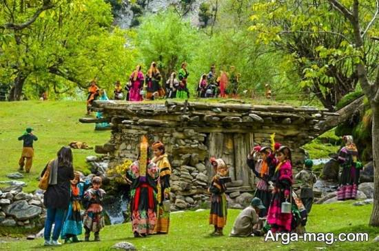 جاذبه های طبیعی پاکستان