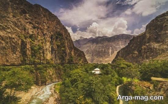 چشم اندازی از دره پاکستان