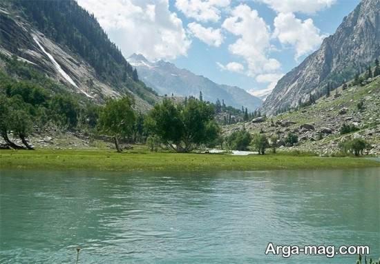چشم انداز دریاچه پاکستان