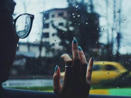 پروفایل دخترانه بارانی