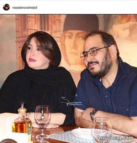 جشن سالگرد ازدواج رضا داوود نژاد و همسرش
