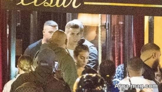 اولین عکس کریستیانو رونالدو و نامزدش پس از ماجرای اتهام