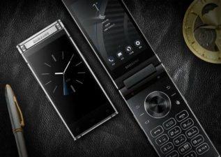مشخصات موبایل تاشوی گلکسی w2109 سامسونگ
