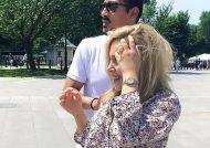 تیپ لاکچری رضا قوچان نژاد و همسرش