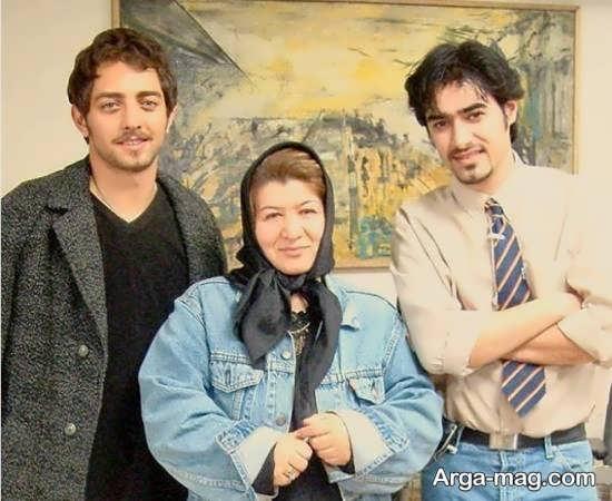 عکس نوستالژیک شهاب حسینی و بهرام رادان