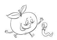 نقاشی سیب با ایده های خلاقانه