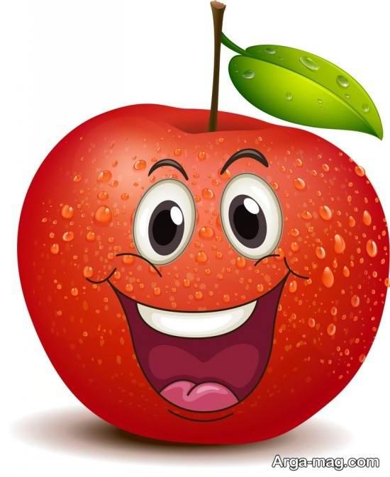 رنگ آمیزی ویژه سیب