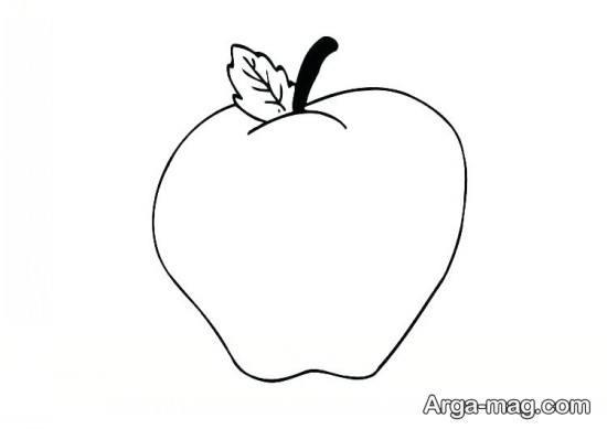 طراحی زیبای سیب