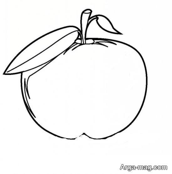 طراحی خلاقانه سیب