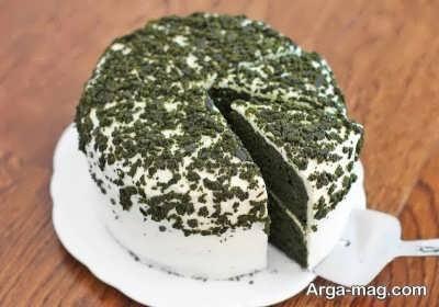 کیک اسفناج خوشمزه